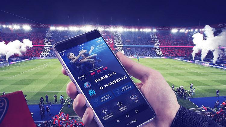 stadium app PSG
