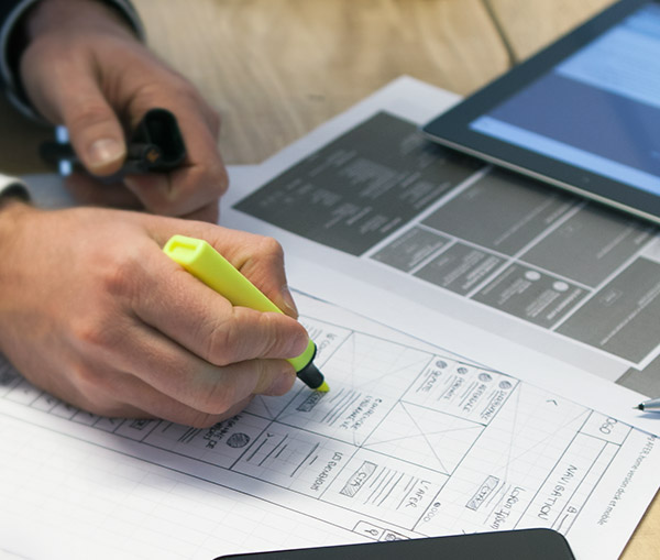 wireframe agence ux